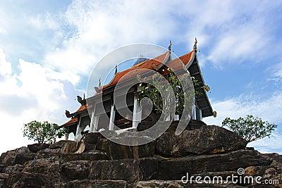 De Bovenkant van de tempel