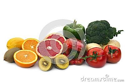 De Bronnen van het Voedsel van de vitamine C