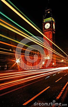De Brug en Big Ben van Westminster