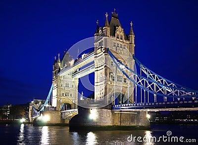 De Brug van de toren in Londen