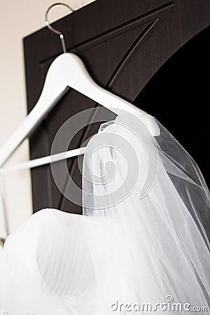 De bruidssluier van het huwelijk