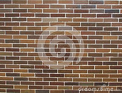 De bruine achtergrond van de tegelmuur royalty vrije stock for Bruine tegels