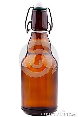 De bruine Fles van het Bier (Duits Bier)