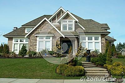De buitenkant van het huis stock afbeeldingen afbeelding 8717154 - Buitenkant thuis ...