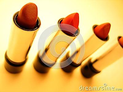 De Buizen van de lippenstift
