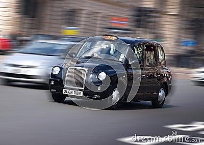 De Cabine van de Taxi van Londen