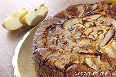 De Cake van de appel