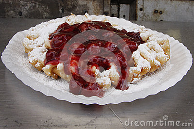 De Cake van de trechter