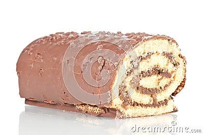 De cake van het broodje