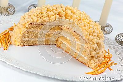 De Cake van mimosa s