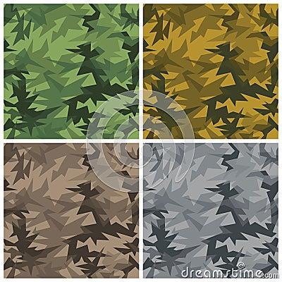 De Camouflage van de schuine streep