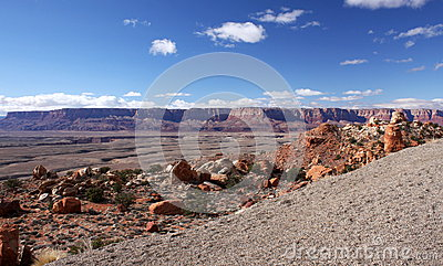De canion-Vermiljoenen van Paria de Wildernis van Klippen, Utah, de V.S.