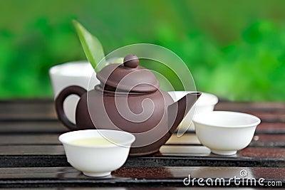 De ceremonie van de thee