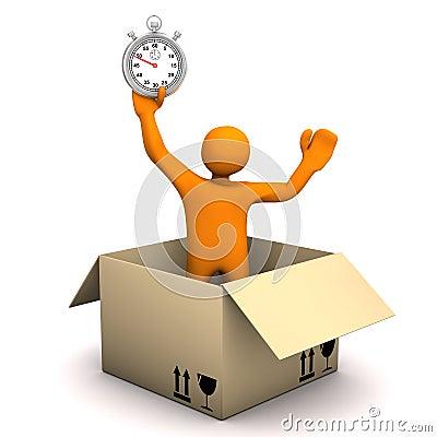 De Chronometer van het mannequinpakket
