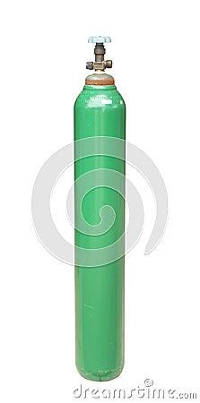 De cilinder van de zuurstof