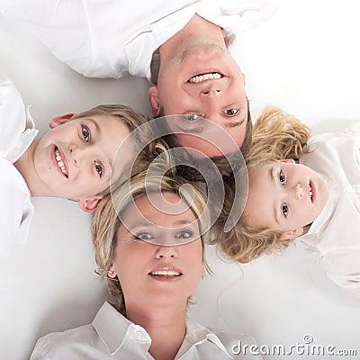 De cirkel van de familie