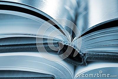 De close-up van boeken
