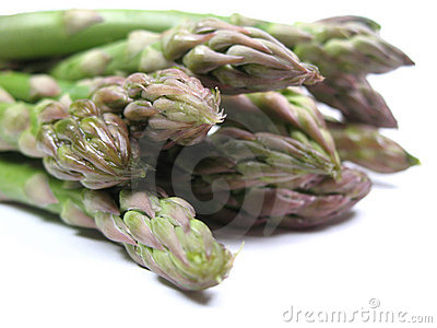 De close-up van de asperge