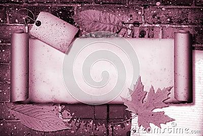 De Collage van de baksteen