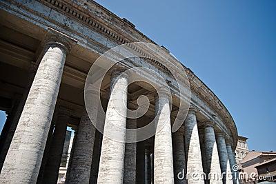 De Colonnade van Bernini