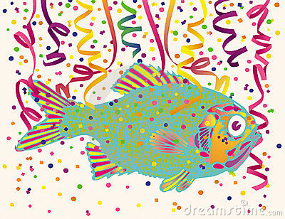 De Confettien van vissen en van de Partij