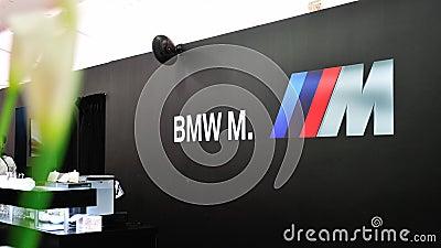 De Convertibele Voorproef van BMW M6 in Singapore Redactionele Afbeelding