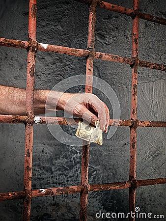 De corruptie van de gevangenis