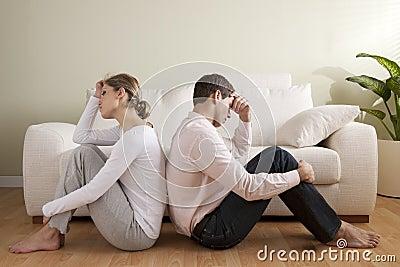 De crisis van het paar