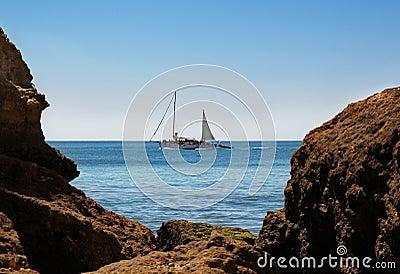 De cruise van de boot