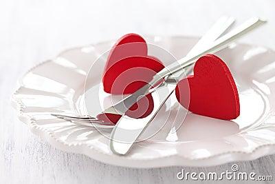 De dag van valentijnskaarten