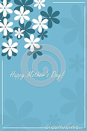 De dagkaart van de gelukkige moeder