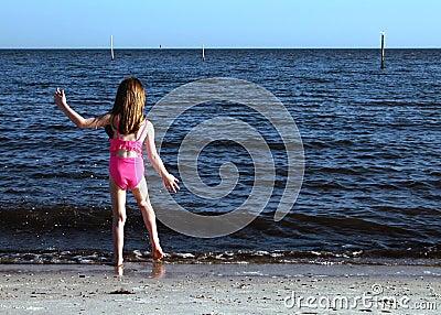 De danser van het strand