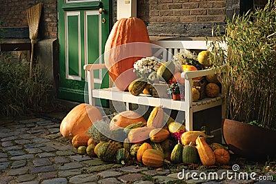 De decoratie van de herfst stock foto beeld 1386470 for Decoratie herfst