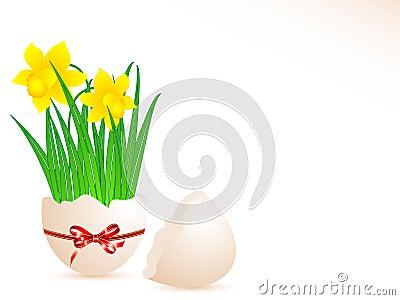 De decoratie van het ei