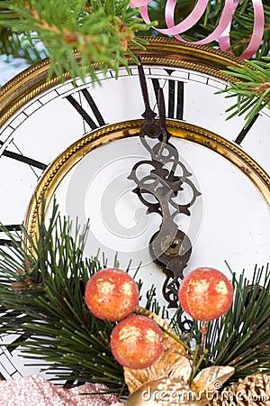 De decoratie van het nieuwjaar stock afbeelding afbeelding 6441341 - Afbeelding van decoratie ...