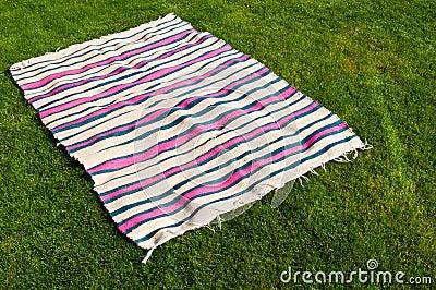 De deken van de picknick