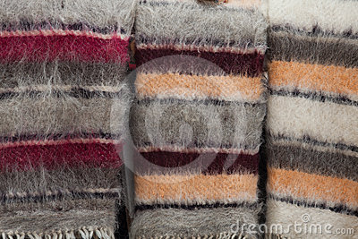 De deken van de wol
