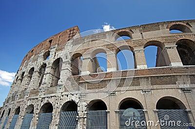 De details van Colosseum
