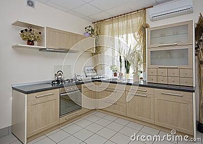 De details van de keuken