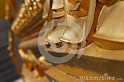 De details van de tempel