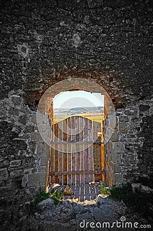 De deur aan paradijs