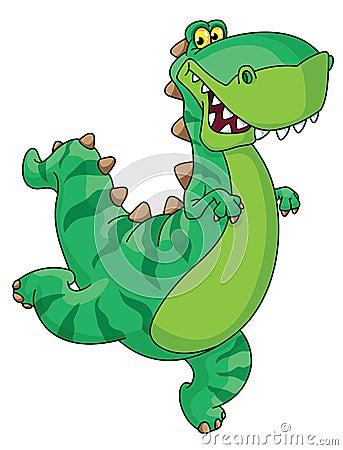 De dinosaurus van de haast