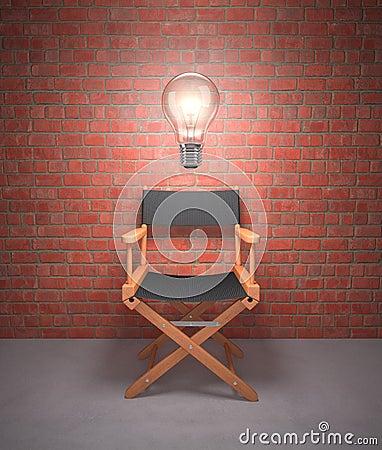 De Directeur van de uitwisseling van ideeën