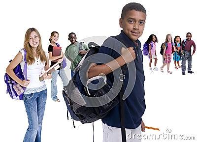 De Diversiteit van de Jonge geitjes van de school