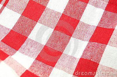 De doekachtergrond van de picknick