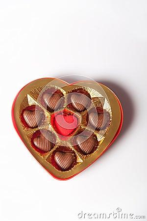 De doos van de chocolade