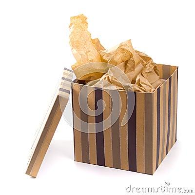 De doos van de gift