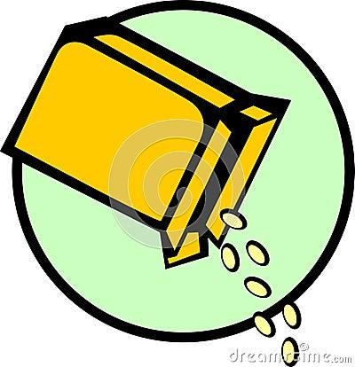 De doos van het graangewas