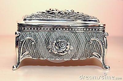 De doos van juwelen