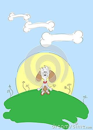 De droom van de hond
